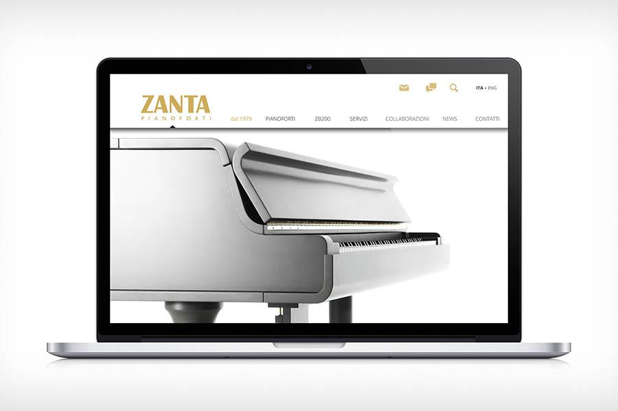 Da oggi online il nostro nuovo sito web zanta pianoforti for Sito web design piano piano